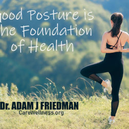 Posture and the Foundation of Your Health