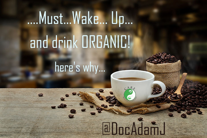 The benefits of drinking organic coffee